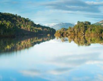 Loch Benevean A4 Size