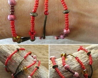 Bracelet with pearls beads 16399