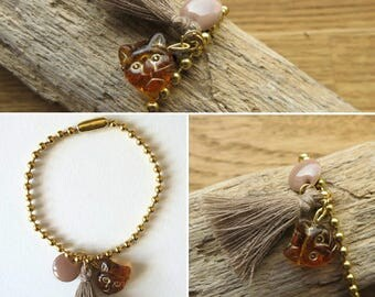 Bracelet ball chain ball chain 17449
