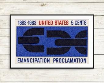 Emancipation Proclamation, black lives matter, US history, US freedom, freedom posters, history posters, classroom posters, education poster