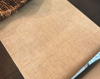 Linen Table Runner | Summer Table Runner | Linen Look Table Runner | Burlap Look Table Runner | Farmhouse Table Runner | Rustic Table
