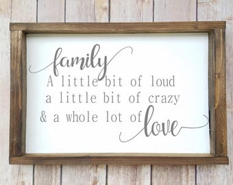 Family Quote Mesmerizing Family Quote  Etsy