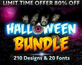 Halloween Bundle Svg Halloween Files Svg Halloween Cuttable Design Svg Cricut Files Halloween Clip arts Svg Dxf Silhouette Decal Cut Image