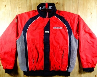 Vintage BRIDGESTONE Blizzak Revolution Rare Jacket Sweater