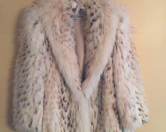Lynx Car-Length Fur Coat