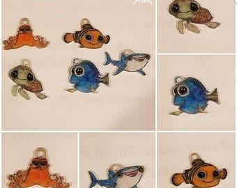 Finding dory stitch marker set