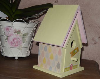 small birdhouse decorative spring spirit