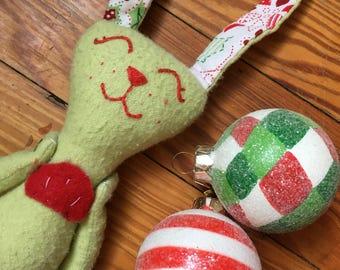 Holiday Mer-Bunny