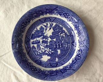 British Anchor Pottery Co. / Willow Bowl / 1891-1913