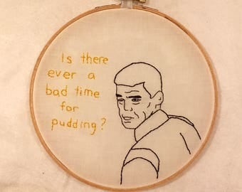 Sealab 2021 Captain Murphy embroidery