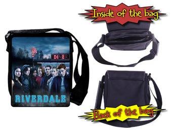 Riverdale Cast Jughead Archie Betty Veronica Cole Sprouse KJ Apa Shoulder Bag