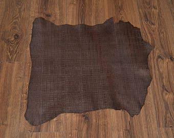 Leather chocolate lambskin (9361430)
