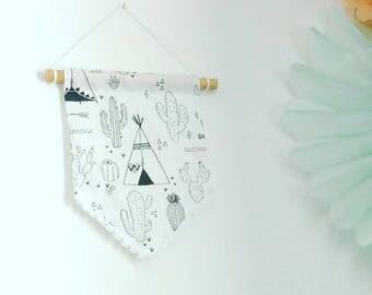 Banner Indian child's room decor