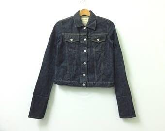 Sale!! Sale!! Vintage Helmut Lang Denime Jacket Rare Design