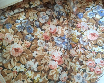 Fabric flowers in a little stiff width 105