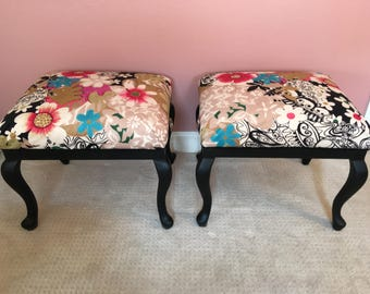 Fabulous Ottomans!!   Modern-Hip Redone for any area or room, living room, family room, bedroom, dorm room, nursery.