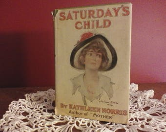 Vintage book ,Saturdays Child
