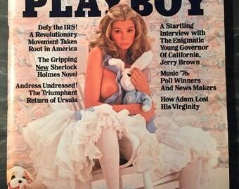 Playboy Magazine - April 1976