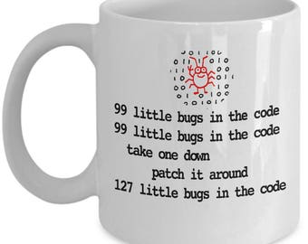 99 Little Bugs In The Code - Programmer's Coding Nightmare - Great Gift For Computer Nerd - Coder
