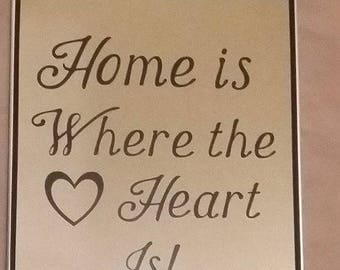 Home Is Where the Heart Is Mirror