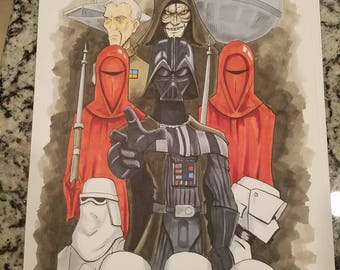 Star Wars Empire Original Art