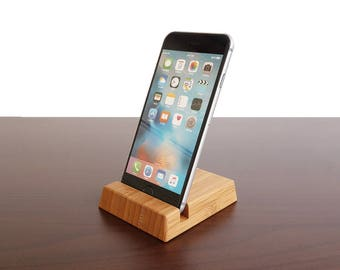 Bamboo iPhone stand. Wood iPhone 6/6S 7/7S 8/8S Stand. Wooden iPhone X Stand. Wood iPhone Stand. Bamboo iPhone Stand.