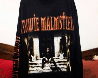 Vintage Sweatshirt Yngwie Malmsteen Live in Japan 98