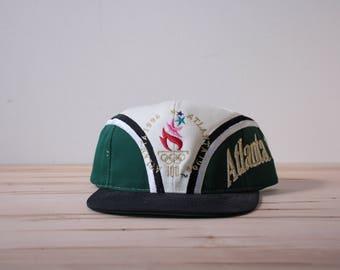 Atlanta 1996 Olympics snapback hat by Eastport