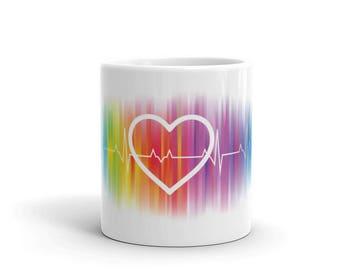 Gay Pride Mug, Gay Coffee Mug, Coffee Mug, Gay Mug, Gay Pride, Gay Gift, Gay, Gay Pride Gift, Gay Wedding Gift, Gay Gifts, LGBT Mug
