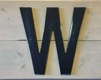"Chicago Cubs ""Fly the W"" Rustic Wood sign"