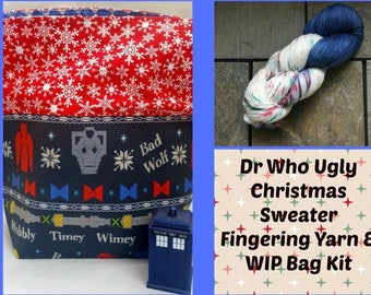 The Doctors' Ugly Christmas Sweater- LIMITED KIT