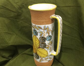 Mid Century Fratelli Fanciullacci Pitcher #8947