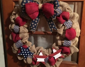 Americana/Independence Day/MemorialDay/Veterans Day Wreaths