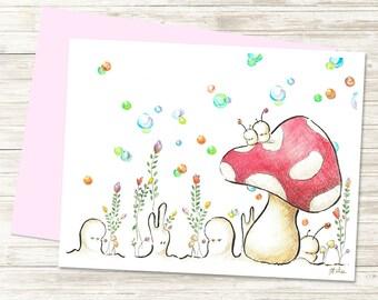 Spring - Greeting Card