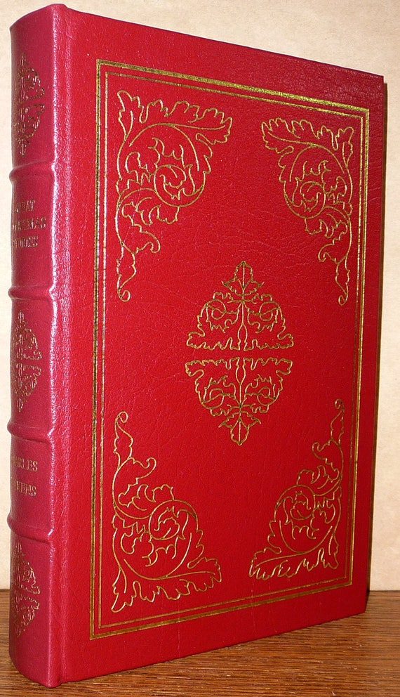 Great Christmas Stories Easton Press Edition 1967 by Charles Dickens - Leather Bound - Collectible