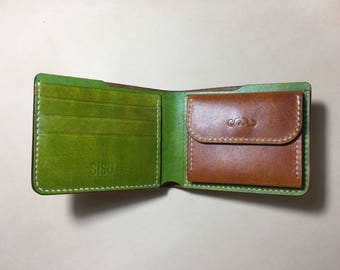 Wallet with 6 card holders