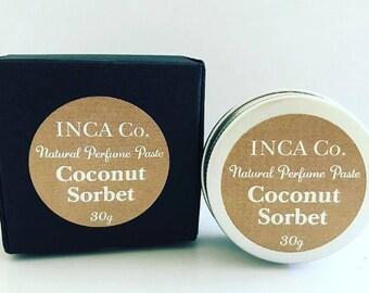 Coconut Sorbet, Perfume Paste