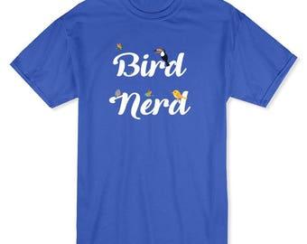 Bird Nerd Graphic Quote Toucan Men's T-shirt