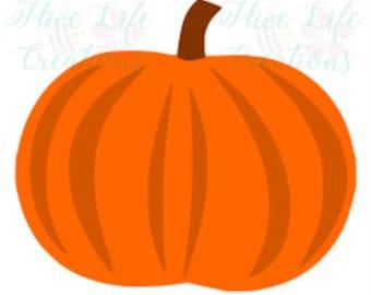 Pumpkin SVG * Pumpkin instant download * jack-o-lantern SVG * svg dxf, png * Cricut Silohouette download file* Halloween Pumpkin cut file