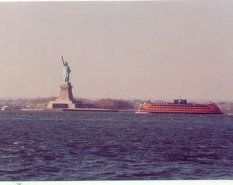 Lady Liberty and the Staten Island Ferry
