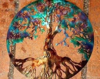 Tree wall art | Etsy