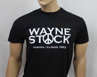 Wayne's World inspired Wayne Stock t-shirt