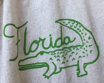 Florida gator kitchen towel