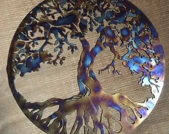 Tree of Life, heat treated