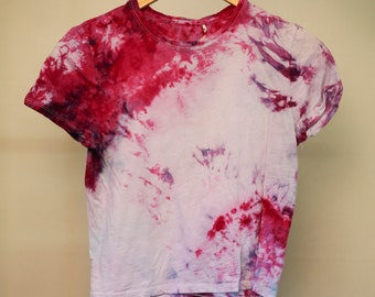Ladies Size Md - Ready To Ship - Unisex - Festival - Tie Dyed - T-shirt - 100% Cotton - FREE SHIPPING within Aus