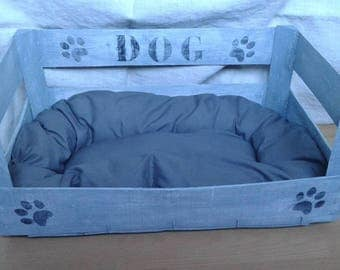 transformed into weathered Dog Crate