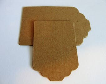 Kraft Card Stock Tags,  Gift Tags, Price Tags, Wedding Gift Thank you Tags, Birthday Party Gift Tag, Vendor Price Tag, Sales tags