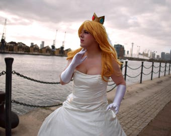 Bridal Princess Peach Cosplay Prints By Katie Manor