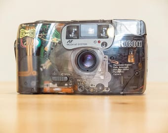 Ricoh FF-9SD LIMITED edition - TRANSPARENT - point and shoot camera