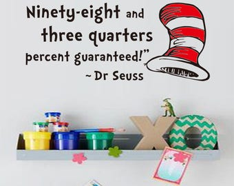 Wall Decal - You will succeed (Dr Seuss)